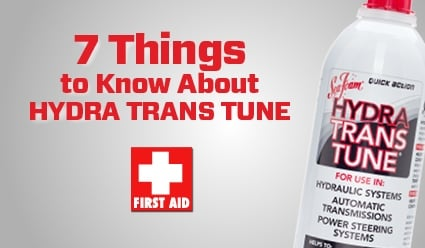 7 Things to Know About TRANS TUNE | Sea Foam Sales Company