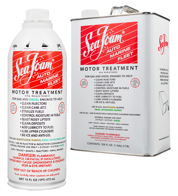 Sea Foam Motor Treatment 16oz and 1 Gallon Product Image