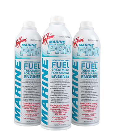 3 Cans of Marine Pro Professional Grade Fuel Treatment for Marine Engines