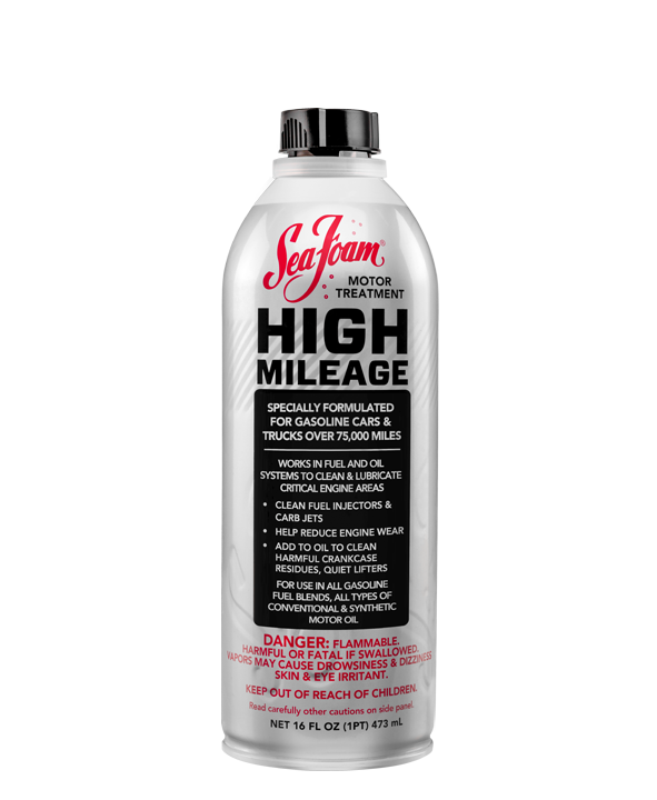 Sea Foam HIGH MILEAGE Motor Treatment | Sea Foam Sales Company