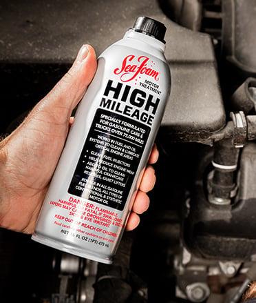 How to use Sea Foam High Mileage
