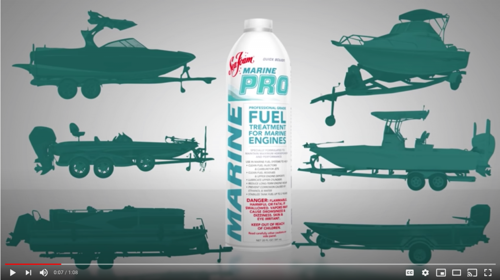 NEW! Sea Foam Marine PRO - Complete marine fuel system treatment
