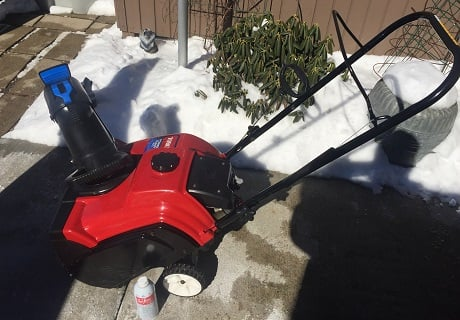 SFAW snow blower BruceD 460